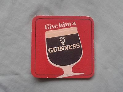 GUINNESS – GIVE HIM A GUINNESS – BEER MAT BBCS No. 230