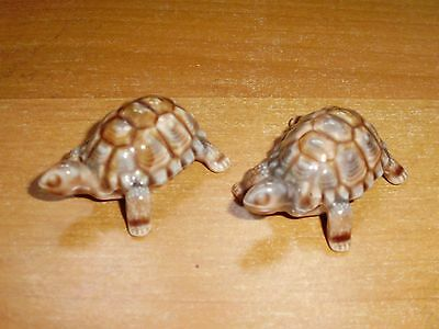 Pair Of Wade Whimsies Small Tortoises 2""