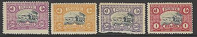 MOROCCO LOCAL (MAZAGAN/MARAKECH) early mint stamp selection to 1pta