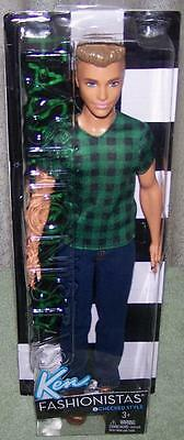 Barbie Style Fashionistas KEN Doll CHECKED STYLE #4 New