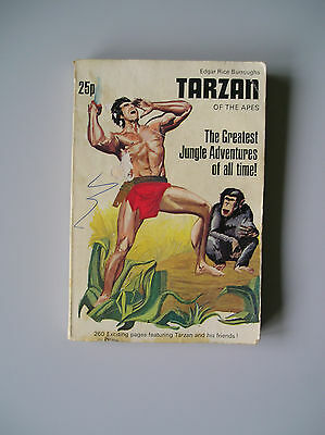 E R Burroughs : Tarzan Of The Apes : Uk 1971 Graphic Novel Collection Paperback