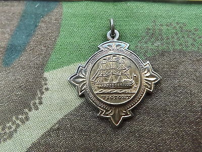1905 Small NELSON Medal - made from Copper reclaimed from HMS Victory