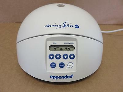 Eppendorf Mini Spin Plus Centrifuge 5453 with F-45-12-11 Rotor