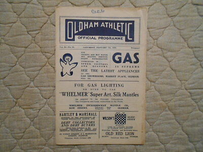 Oldham V Newcastle Utd Fa Cup 3Rd Round Match Programme 1950