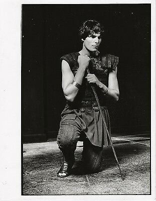 Christopher Reeve in midievel costume ~ ORIG early 1980s portrait for the stage