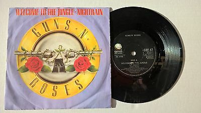 """GUNS N' ROSES - Welcome to the jungle - Vinyl 7"""" Single"""