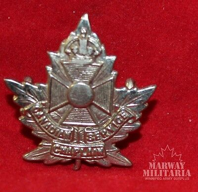 WW1, Canadian CHAPLAIN Services OFFICER'S Collar Badge  (Inv8444)