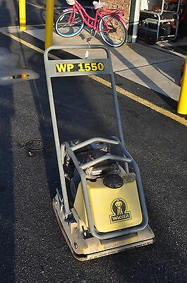 Wacker WP1550 Vibratory Plate Compactor Tamper Pre-owned Local Pickup Only NJ
