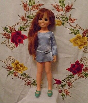Vintage Ideal Crissy Doll~ 1969~Growing Hair Original Box~Complete Original Outf
