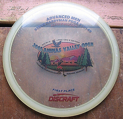 Rare elite Z Buzzz 2005 First Place Trophy disc Early Run Concave Flat Golf Disc