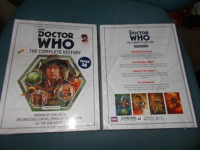 Doctor Who -The Complete History - 'Issue 36' - CHEAPEST ON EBAY! IN UK-FREE P&P