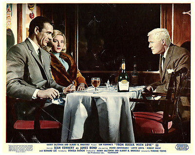 From Russia With Love James Bond Original Lobby Card Sean Connery Robert Shaw