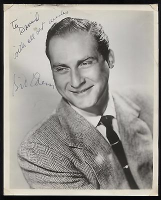Sid Caesar VINTAGE Signed 8x10 Photo Autographed Early Career From 1960's