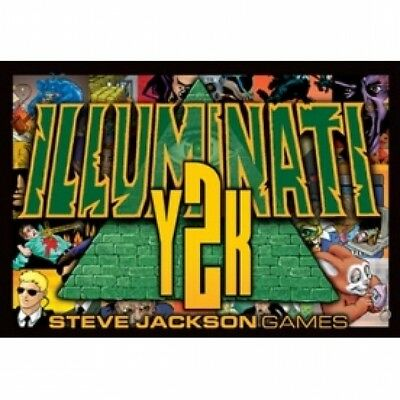 Illuminati Y2K Card Expansion Brand New