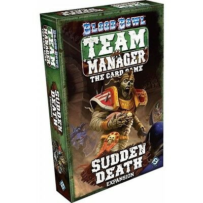 Blood Bowl Team Manager Sudden Death Card Game Brand New