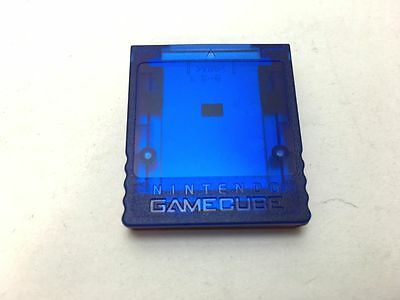 Gamecube GC Nintendo Official Memory Card Pokemon Color used Japan