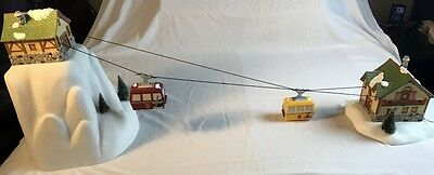 Retired Dept. 56 Animated Gondola Ski Lift #56-52511