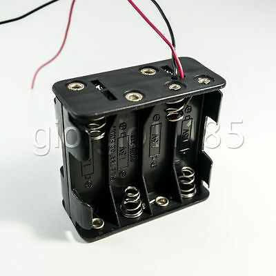 5 pcs Battery Holder Box Case w/Wire 8 X AA 12V A#