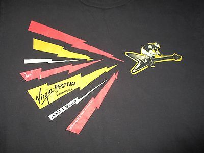 2007 VIRGIN FESTIVAL Concert (XL) Shirt THE POLICE 311 SMASHING PUMPKINS Wu-Tang