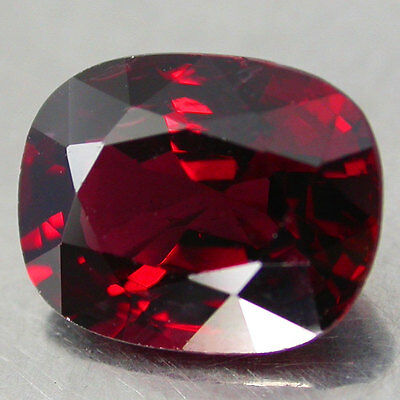 RARE 2.45Cts.CERTIFICATE PERFECT TOP RED 100%NATURAL UNHEATED SPINEL C/S BURMA