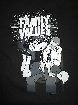 2001 The FAMILY VALUES (XL) T-Shirt STONE TEMPLE PILOTS EDDIE VEDDER