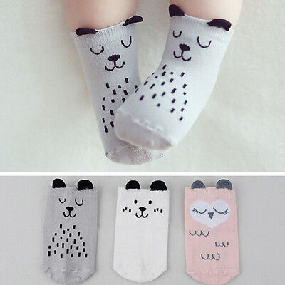 Cute Baby Socks Boy Girl Cartoon Cotton Socks NewBorn Infant Toddler Socks S-MLA