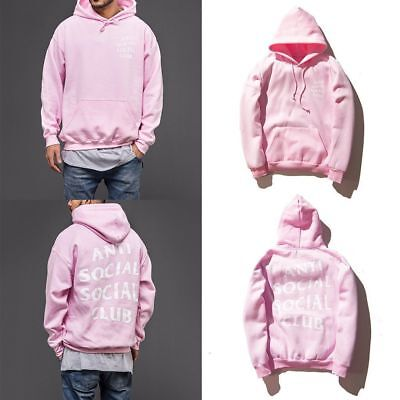 Hooded Jumper Anti Social Social Club Hip Hop Sweatshirts Women Men Hot Sweater