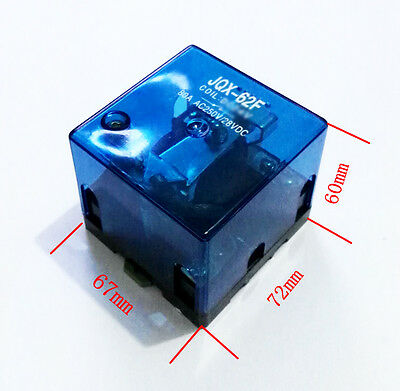 New JQX-62F 80A 110V Coil High Power Relay 110V AC CE