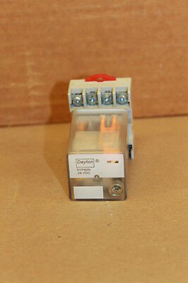 Dayton 5Yp80N Relay With Square D 8501Nr51 Base Socket