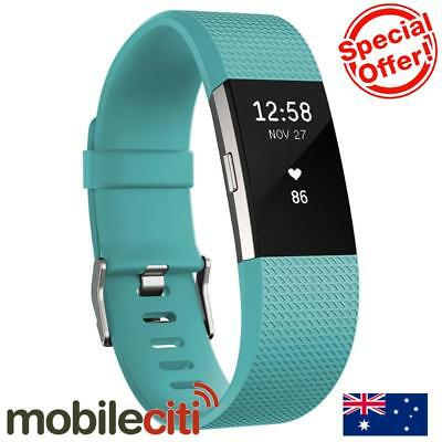 Fitbit Charge 2 Heart Rate + Fitness Wristband Small - Teal