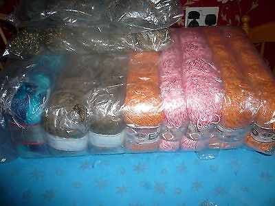 knitting wool 50 balls 100 grms in each all new branded and sealed