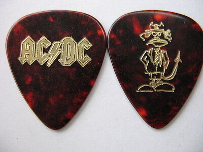 Ac/dc 2016 Angus Young Rock Or Bust Tour Real Tour Guitar Pick