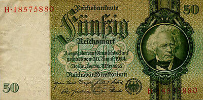 Germany 50 Reichsmark 1933 H18575880