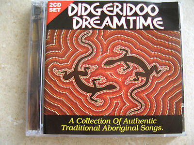 Didgeridoo Dreamtime - Rare 2CD Set - Collection of Traditional Aboriginal Songs