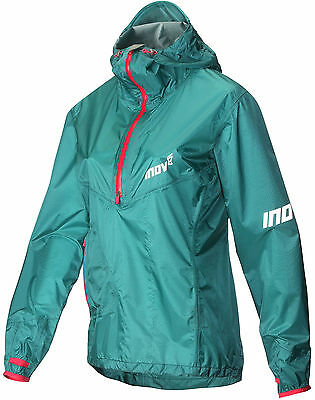 Inov8 AT/C Stormshell Half Zip Waterproof Ladies Running Jacket - Blue