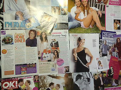 HOME AND AWAY 60 Magazine Clippings Isla Fisher Dieter Brummer Kate Ritchie Ada