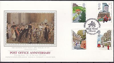 Gb Southerbys Silk Fdc No14 (39A) Used