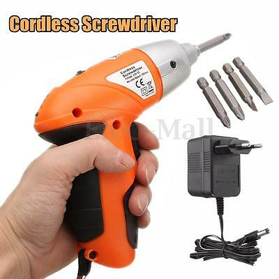 Cordless Electric Screwdriver Drill Set 4.8 V Rechargeable Power 180RPM/Min