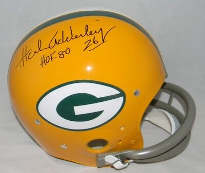 Herb Adderley Autographed Signed Green Bay Packers F s Throwback Tk Helmet  Jsa a185dc795
