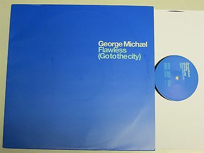 """GEORGE MICHAEL Flawless PROMO Shapeshifters Remix/Boxer Mix 12"""" (RARE 2004) Wham"""