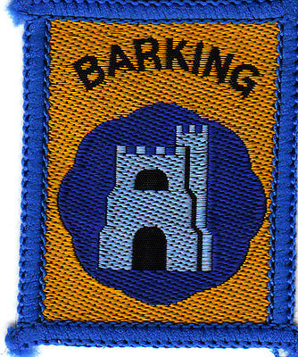 Boy Scout Badge +Ext BARKING  DISTRICT