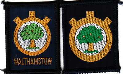 Boy Scout Badges Ext un/named WALTHAMSTOW DISTRICT