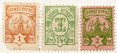 (I.B) Denmark Local Post : Odense Collection