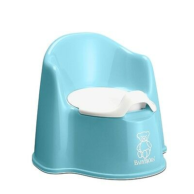 Babybjorn Potty Chair-Turquoise