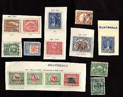 Stamps ~ GUATEMALA  ~ MIXED CONDITION Unsorted