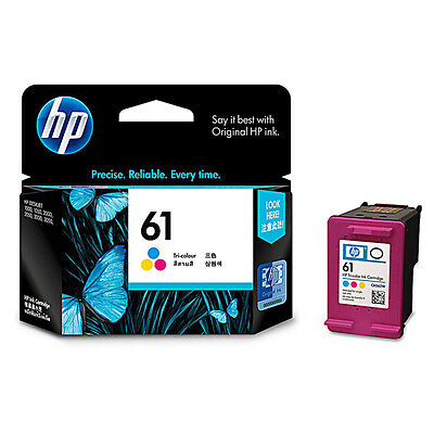 HP 61 CH562WN Color Ink Cartridge NEW GENUINE