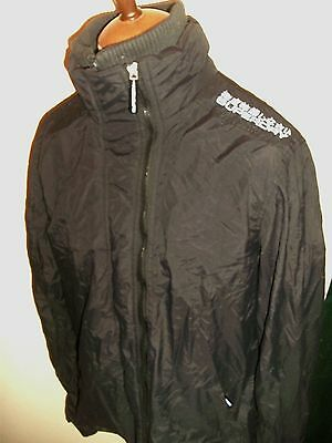 Superdry Windcheater Jacket Size Xxl Black