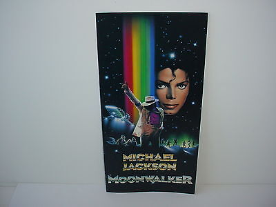 Michael Jackson Moonwalker Promotional Poster Video Store
