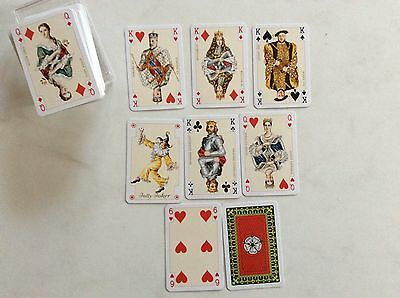 pack of playing cards- patience size