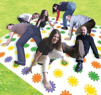 Get Knotted Giant 3M Twister Game Garden Party New Box